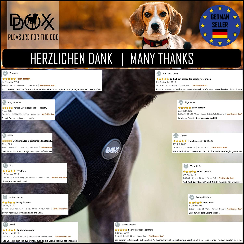 DDOXX Arnés Perro Step-In Air Mesh, Ajustable, Reflectante ...