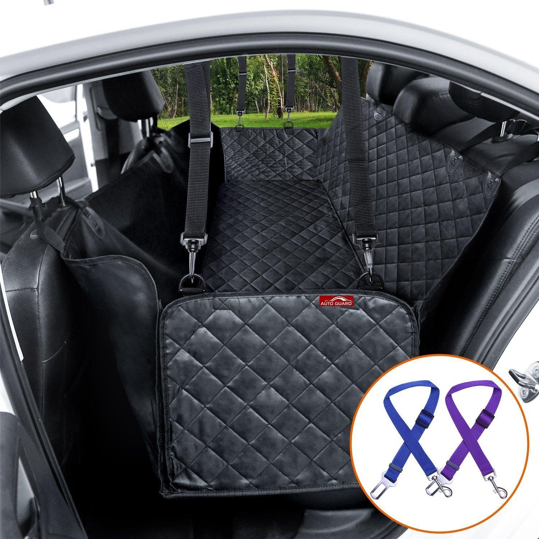 SURDOCA Car Organizers & Dog Protector de Asiento para automóvil (Protector Asiento Coche Perro)