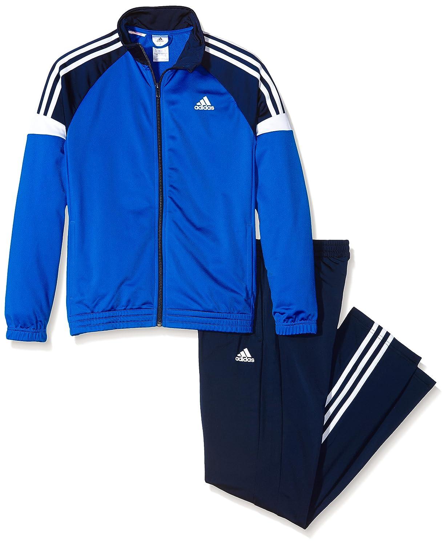 adidas YB TS KN TIB OH - Chándal para niño, color azul/negro ...