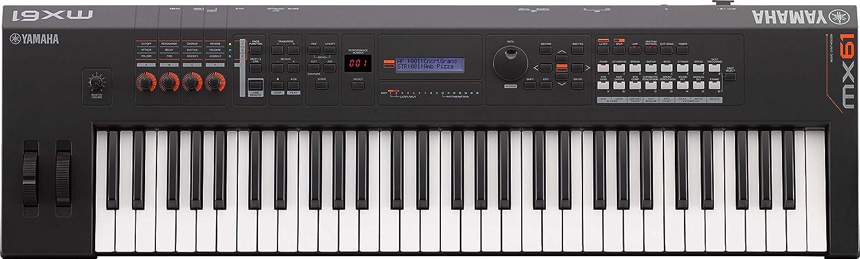 Yamaha MX49 Music Production Synthesizer, Black Yamaha PAC MX49BK