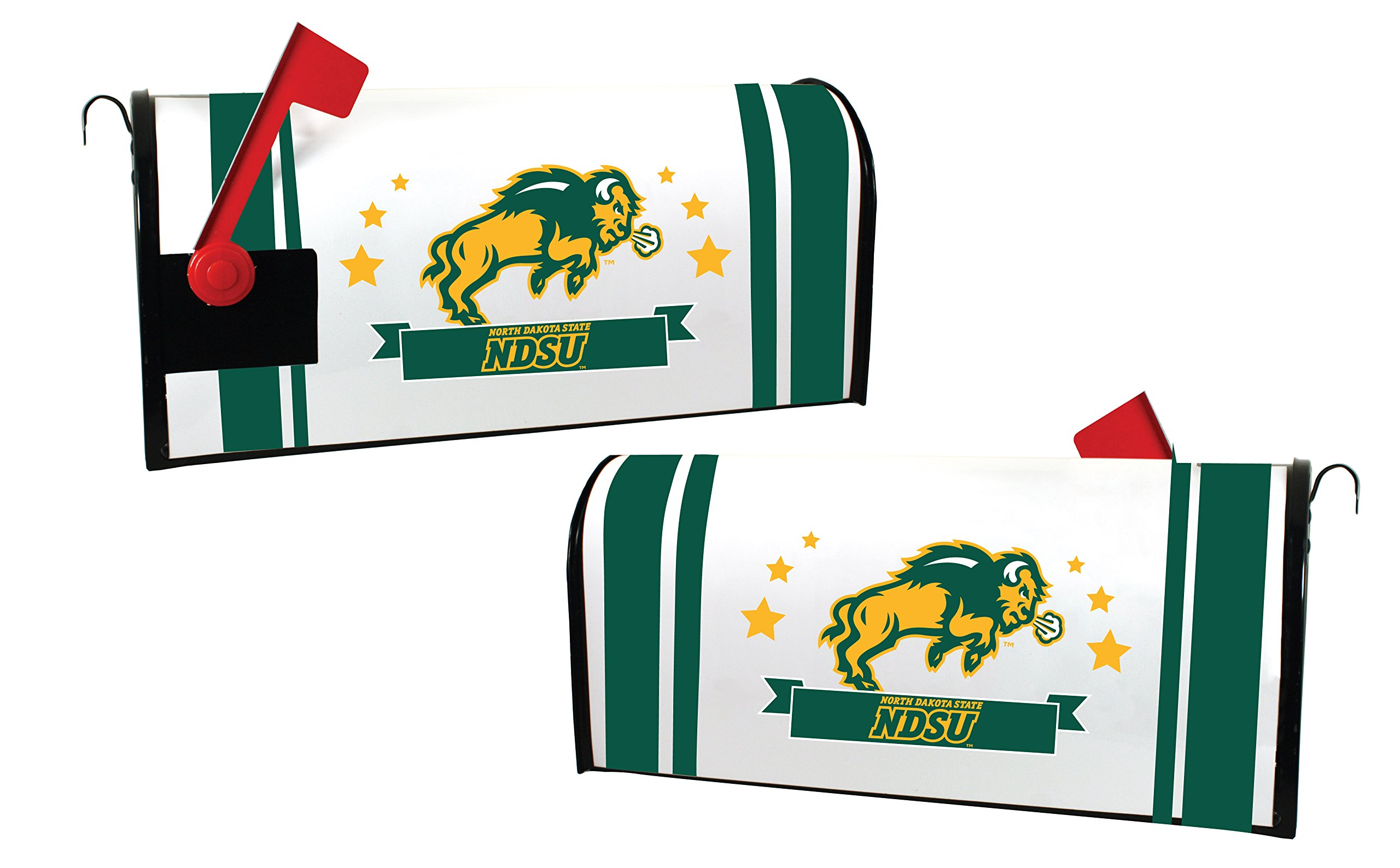 NORTH DAKOTA STATE BISON MAILBOX COVER-NDSU MAGNETIC MAIL BOX COVER-NEW FOR 2016!