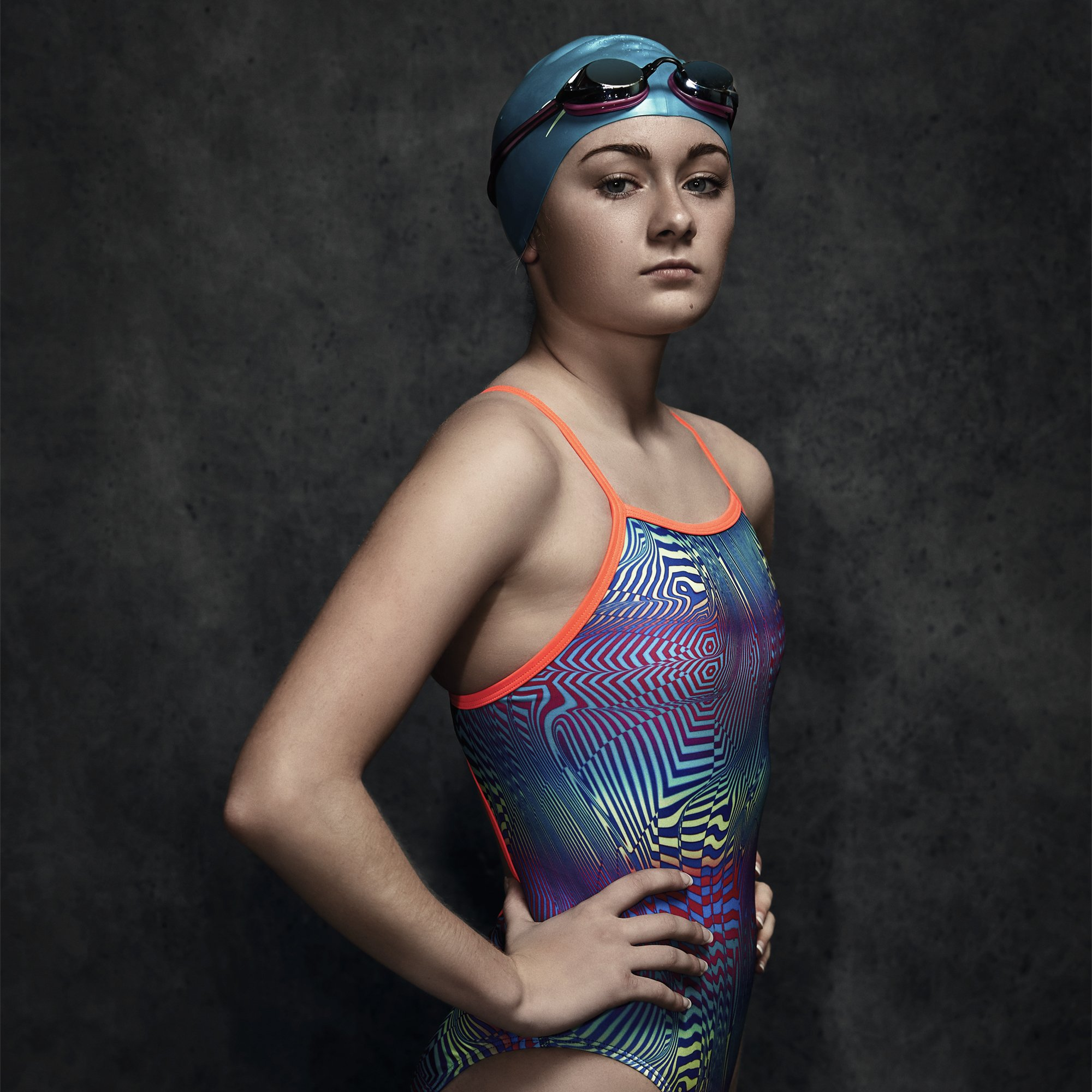 1b4dae87d1da5 Galleon - Speedo Women's Pro Lt Flipturns Propel Back One Piece Swimsuit,  Pink/Orange/Zebrotrastic, Size 10/36