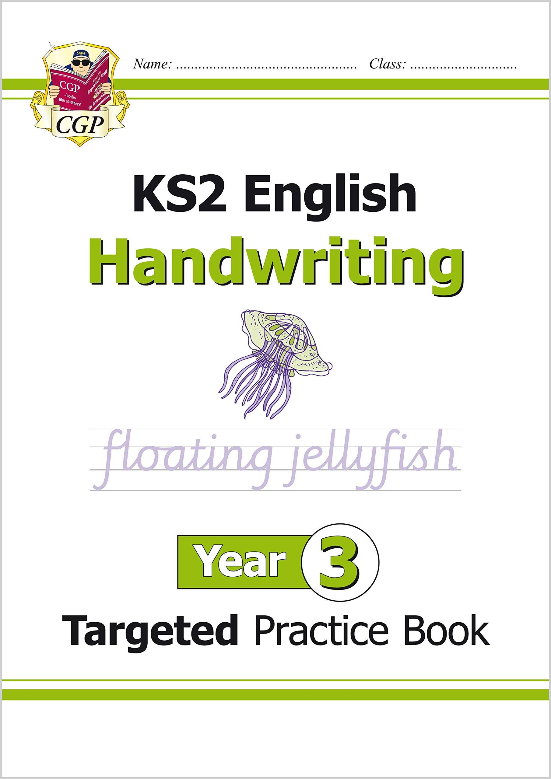 - KS2 English Targeted Practice Book: Handwriting - Year 3 CGP KS2