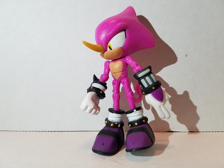 Amazon Com Sonic The Hedgehog Espio The Chameleon Action Figure Holding Blade Loose Toys Games