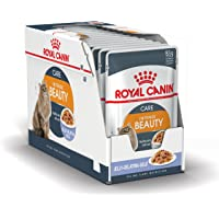 Royal Canin Cat Food Adult Intense Beauty in Jelly, Wet Food - 12 Pack x 85g Pouch