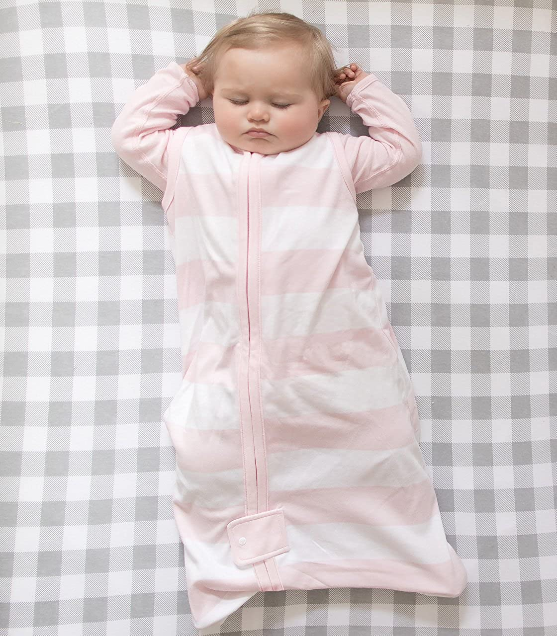 Beekeeper Wearable Blanket Swaddle Transition Sleeping Bag Burt/'s Bees Baby 100/% Organic Cotton Burts Bees Baby