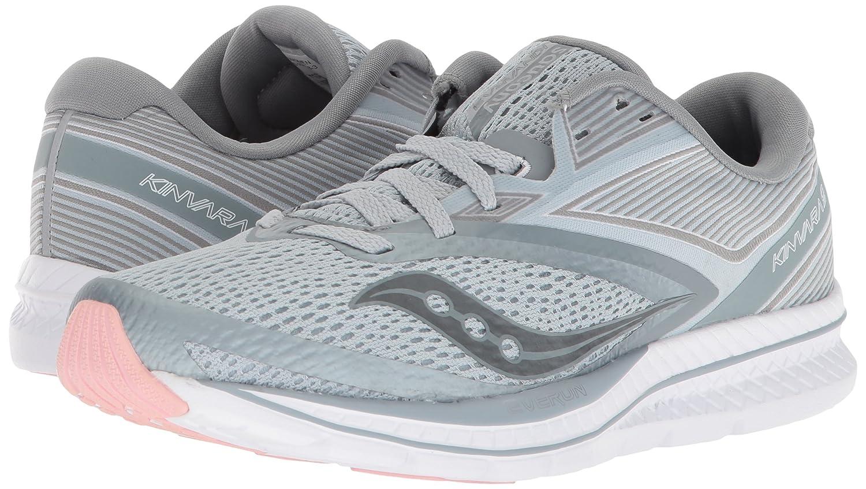 Saucony Women's Kinvara 9 Running Shoe B071WKKSXR 10.5 B(M) US|Grey/White