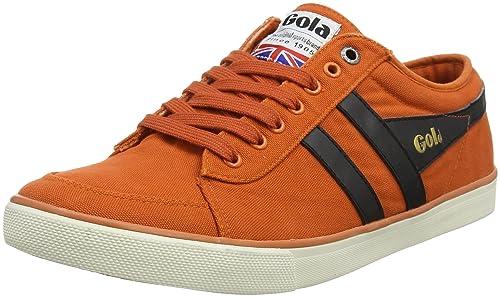 Gola Varsity, Zapatillas para Hombre, Naranja (Moody Orange/Black Ub), 44 EU