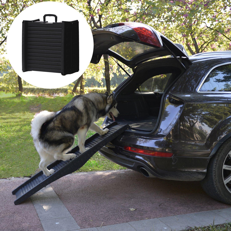 Festnight Portable Folding Mobility Pet Dog Ramp 60''