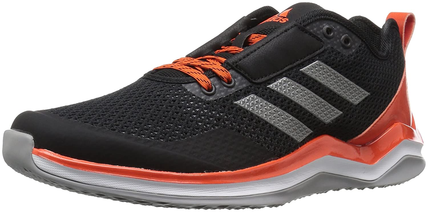 adidas メンズ Speed Trainer 3.0 B01MQY9T0W 8 D(M) US|Black/Iron/Collegiate Orange Black/Iron/Collegiate Orange 8 D(M) US