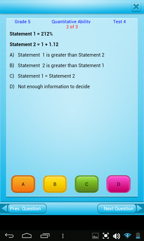 Amazon.com: FREE QVprep Lite 5th grade maths (quantitative) and ...
