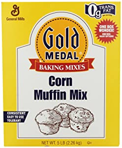 Gold Medal Corn Muffin Mix, 5-Pound