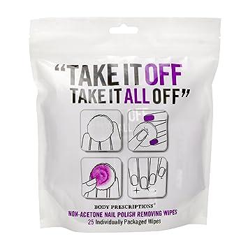 Amazon.com : Body Prescriptions - 25 Non-Acetone Nail Polish ...