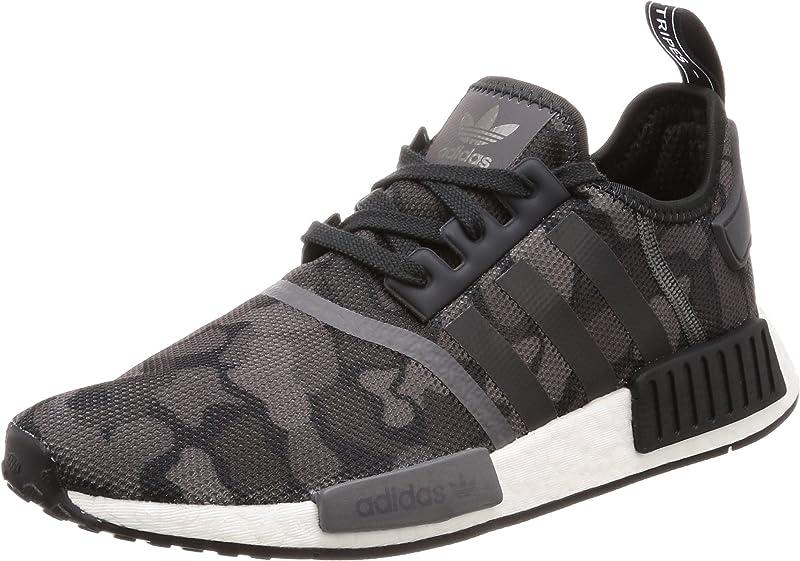 adidas NMD Sneakers Laufschuhe Herren Schwarz/Grau (Core Black/Grey Four F17/Grey Five)