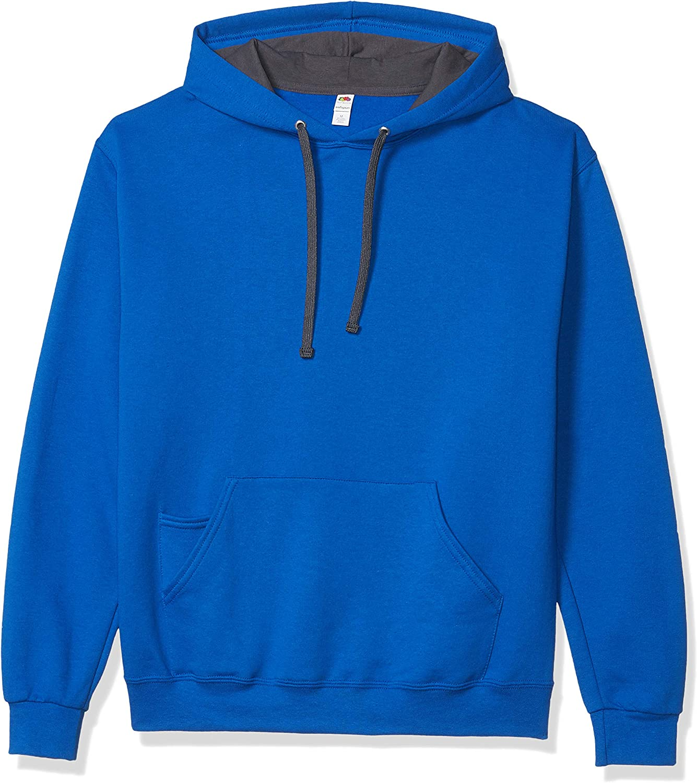Fruit of the Loom Men's Hooded Sweatshirt-ANZ