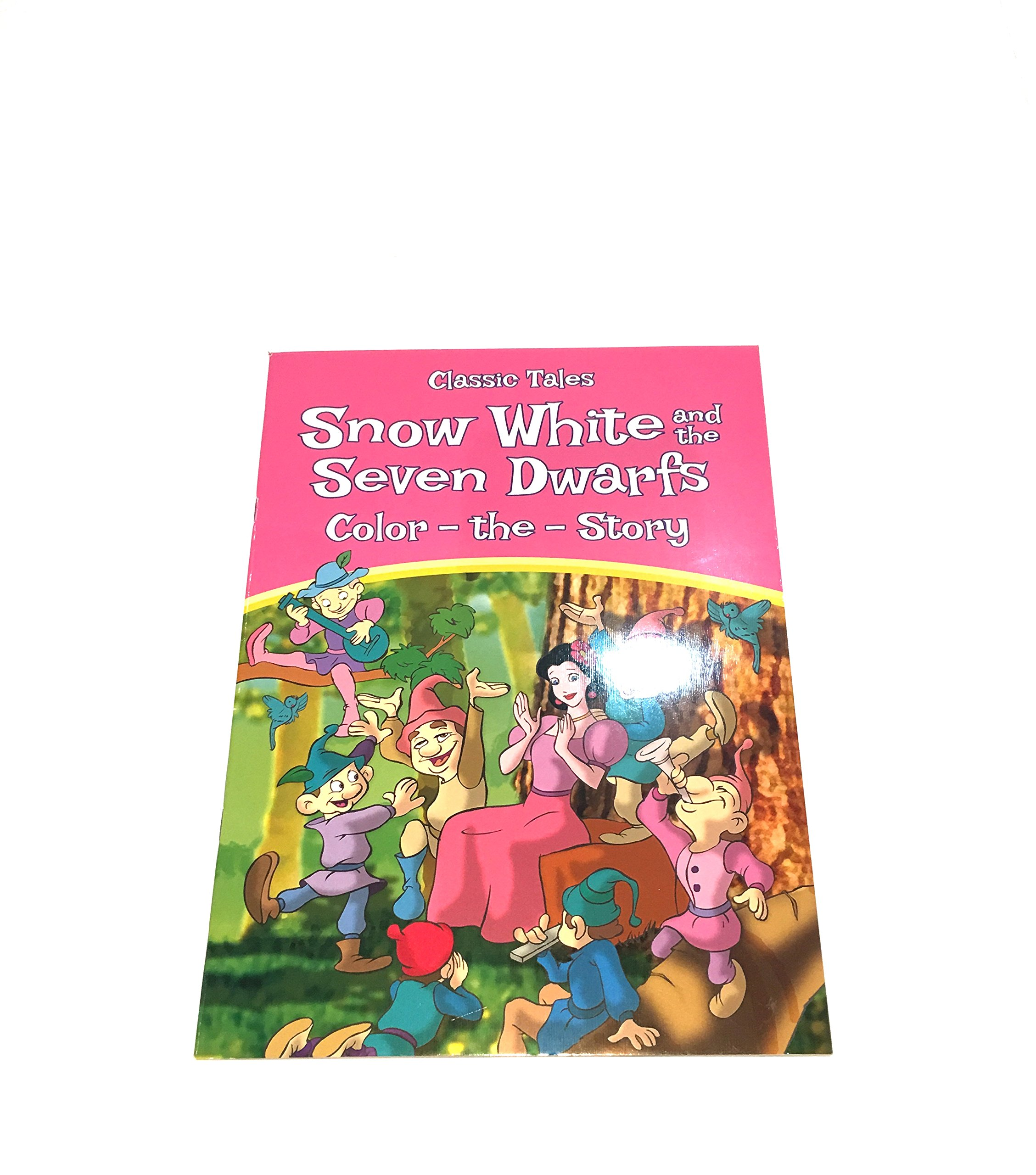 Classic Tales Snow White and the Seven Dwarfs Color the Story pdf