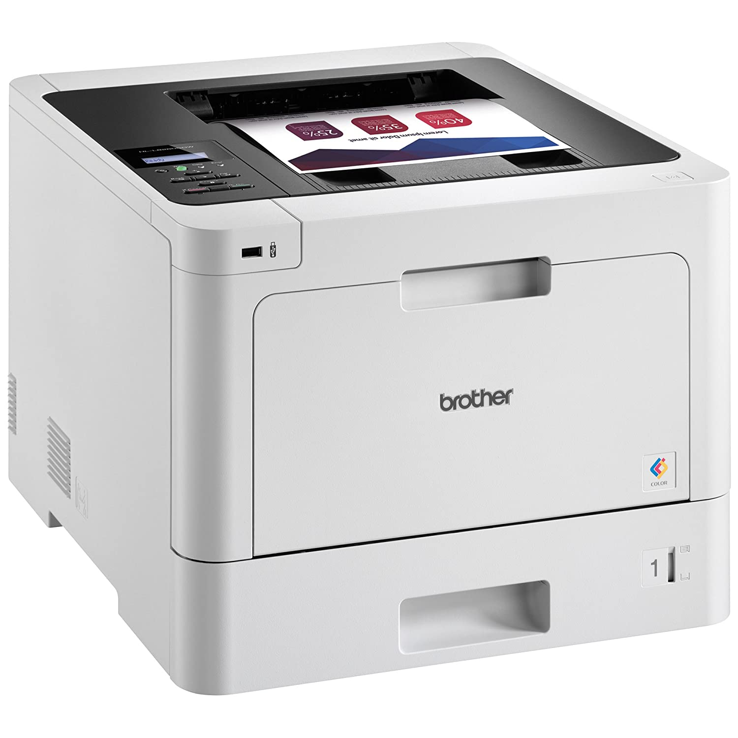 Color printing vs black and white cost - Amazon Com Brother Printer Hll8260cdw Business Color Laser Printer With Duplex Printing And Wireless Networking Electronics