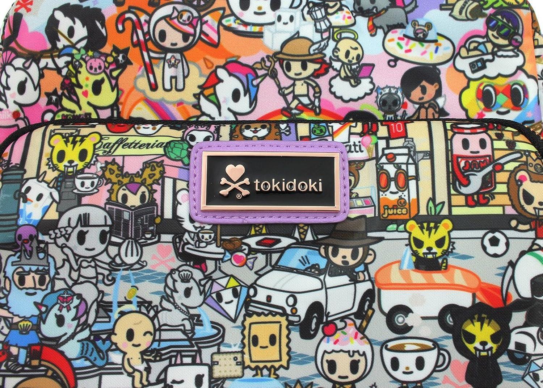 amazon com tokidoki roma small crossbody handbag clothing
