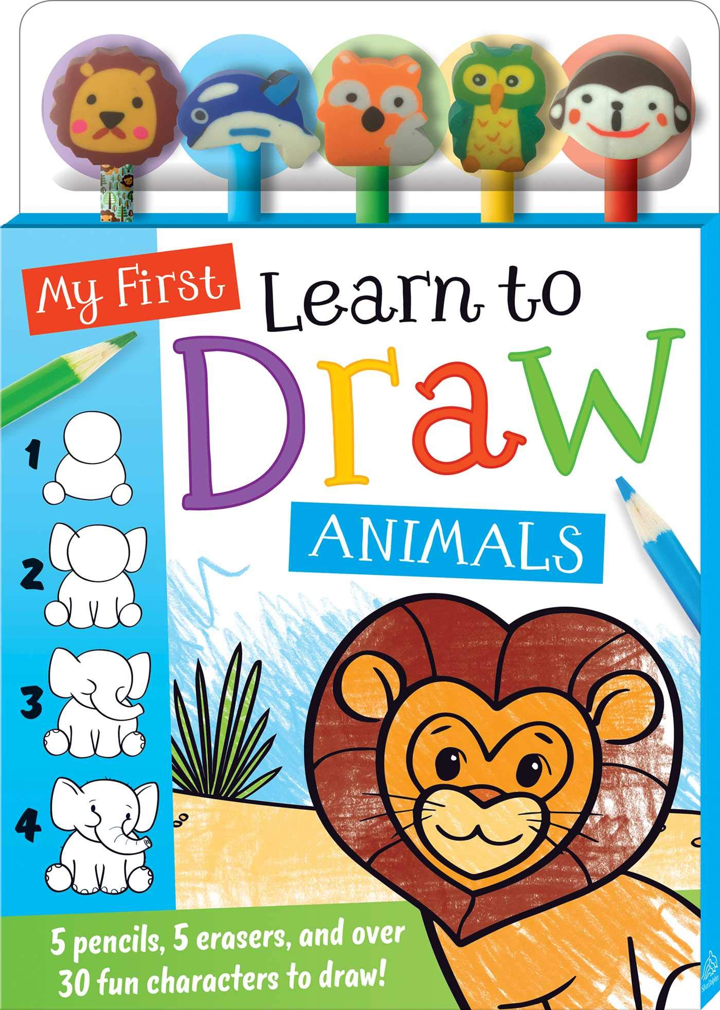 My First Learn to Draw: Animals (Pencil Toppers) ebook