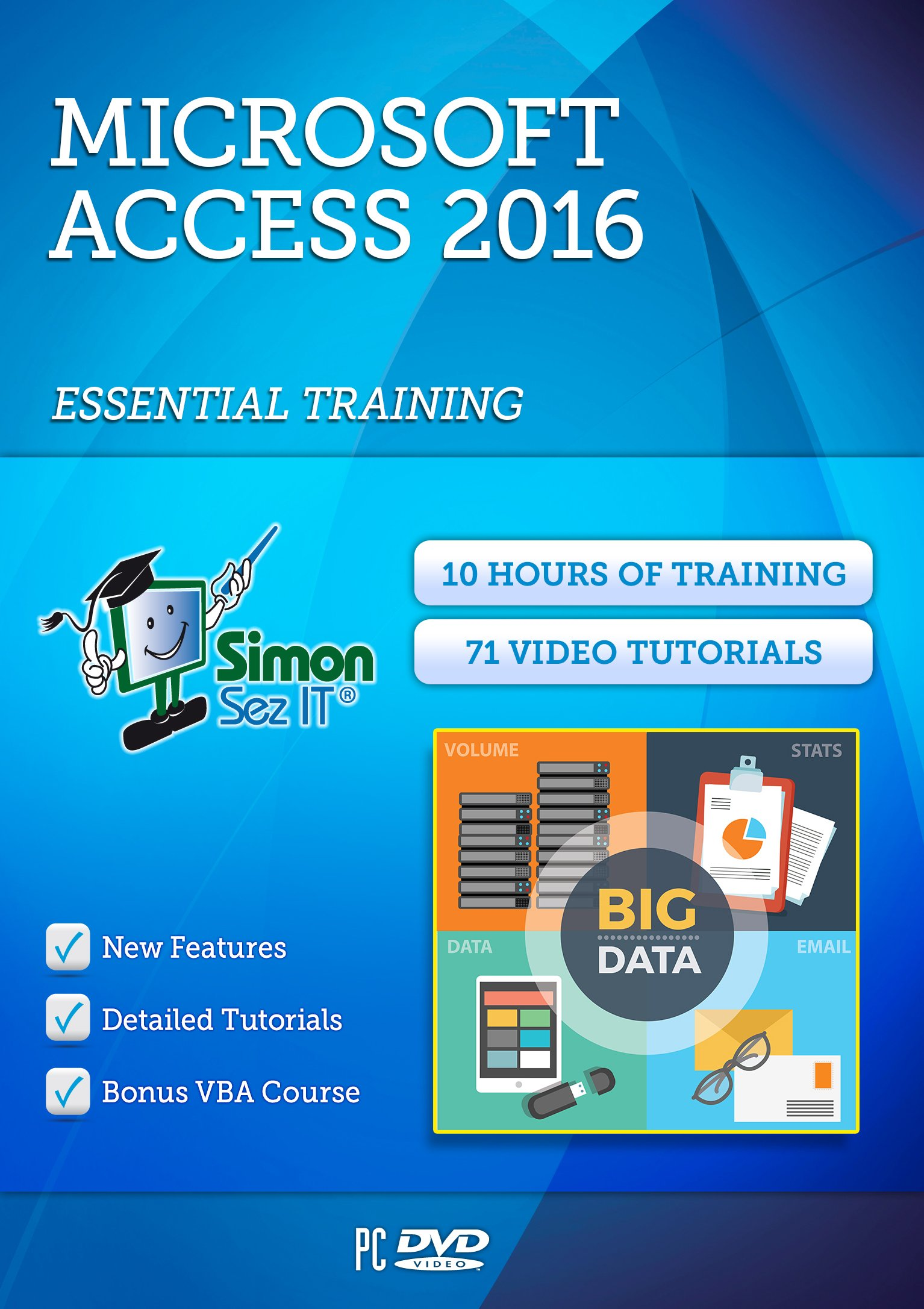 Access 2016 Training Course For Beginners: Essential Training by Simon Sez IT