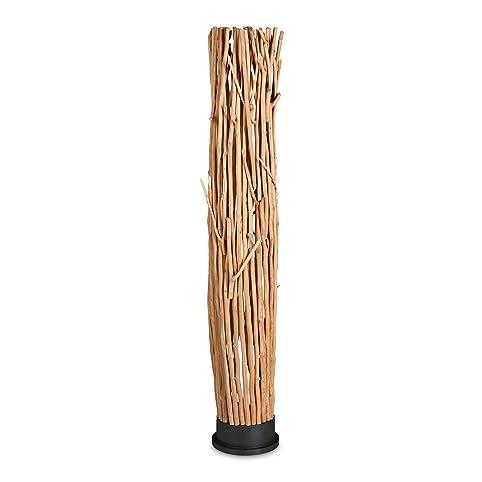 Relaxdays Stehlampe Holz QuotZweigequot Klein HBT Ca 151 X 25 26