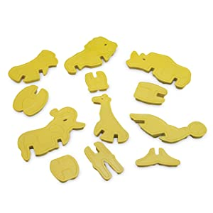 Nordic Ware 3-D Zoo Animal Cookie Cutter Set