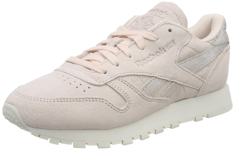 TALLA 42 EU. Reebok Classic Leather Shimmer, Zapatillas para Mujer