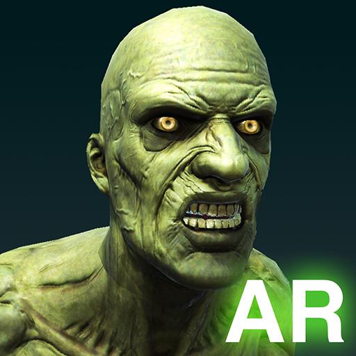 Green Alien Zombie Dance Challenge AR App