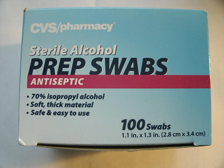 amazon com cvs pharmacy sterile alcohol prep swabs antiseptic 100