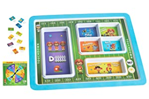 BILBY & Bear Toddler Plates - Get Kids Trying New Foods with This Interactive Picky Eaters Game & Kids Plate - Our Toddler Plates Divided Into Sections Makes Mealtimes Fun