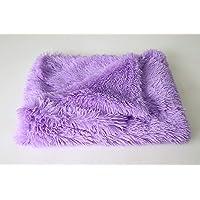 JKLW Blanket Luxury Plush Pet Bed Blanket Cat Sleeping Pad Puppy Winter Warmth Thin Kennel Cushion Soft Big Dog Mattress…