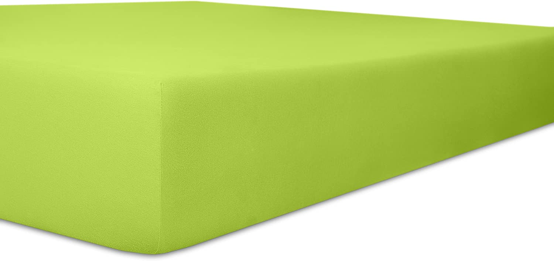 Kneer 6073654 Single Jersey Kinder-Spannbetttuch Qualit/ät 60 Limone Gr/ö/ße 35//78-40//90 cm
