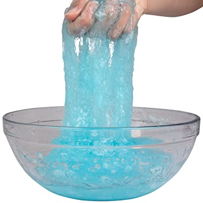 Toys By Nature Make Your Own Slime - Entertaining Kids DIY Kit, Safe & Non Toxic Ingredients - Makes 3 Gallons of Slime, 0.25 Lb Tub: Toys & Games