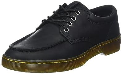 fd706d762 Dr. Martens Men's Wilmot Low Black Wyoming/Black Pu/Polyurethane 7 ...
