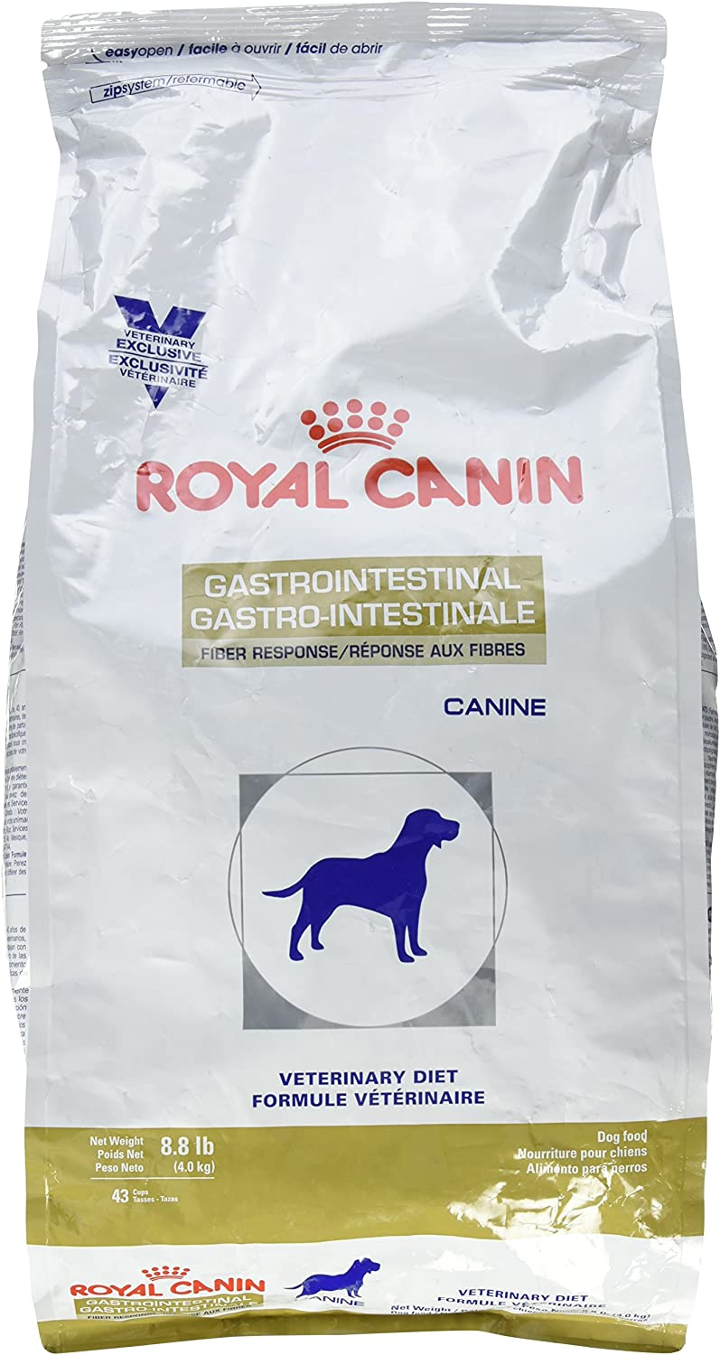 6. Royal Canin Veterinary Diet Gastrointestinal Fiber Response Dry Dog Food