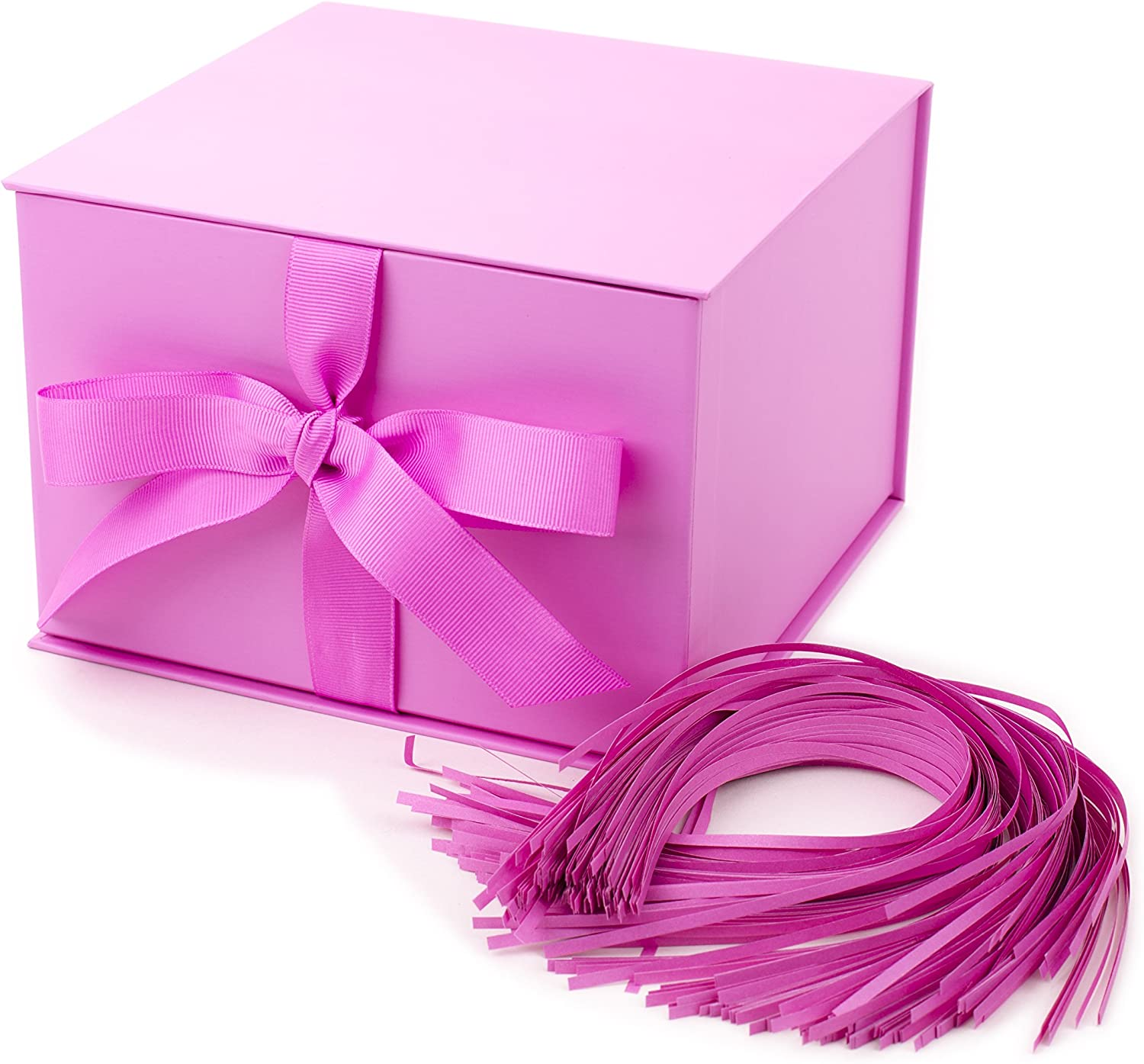Baby Blue Magnetic Gift Box Gold Purple White Baby Pink Black