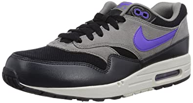 the best attitude 4f960 a06a3 Nike Air Max 1 Essential, Chaussures de running homme - Multicolore  (Black Hyper