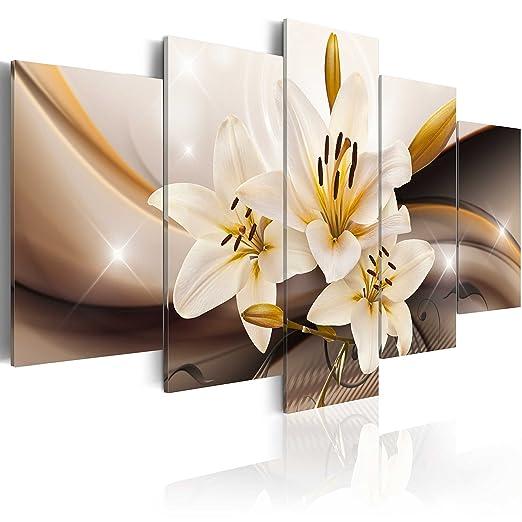 55 opinioni per murando- Quadro 100x50 cm- 5 Parti- Quadro su tela fliselina- Stampa in qualita