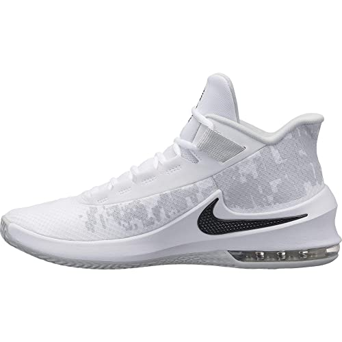 lowest price 081e0 1409d Nike Air MAX Infuriate 2 Mid, Zapatos de Baloncesto para Hombre, Blanco  (White