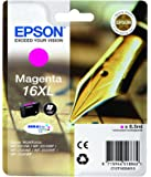Epson - C13T16334010 - 16 XL Cartouche d'encre - Magenta