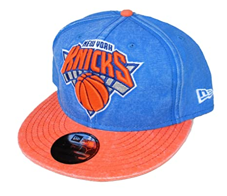 81d4fc50 Image Unavailable. Image not available for. Color: New York Knicks New Era  Snapback ...