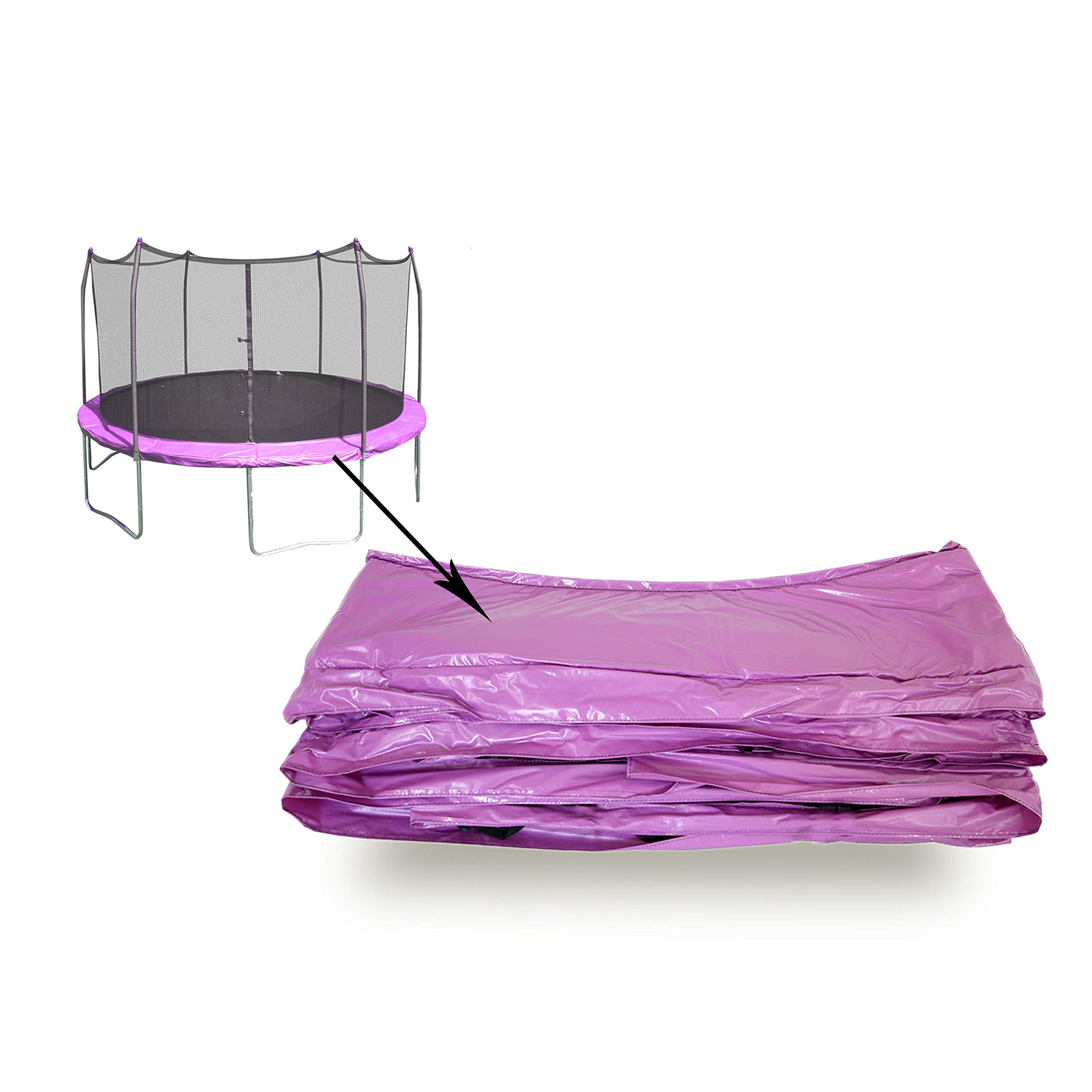 Skywalker Trampolines Purple 12' Round Spring Pad by Skywalker Trampolines (Image #2)