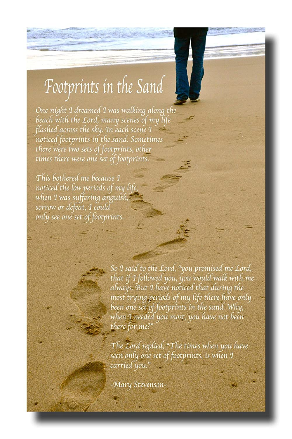 Colorful Footprints In The Sand Wall Art Sketch - Art & Wall Decor ...