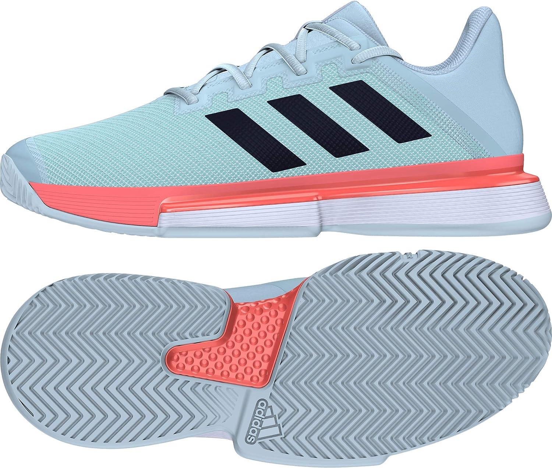 adidas Solematch Bounce M, Zapatillas Tenis Hombre: Amazon.es ...