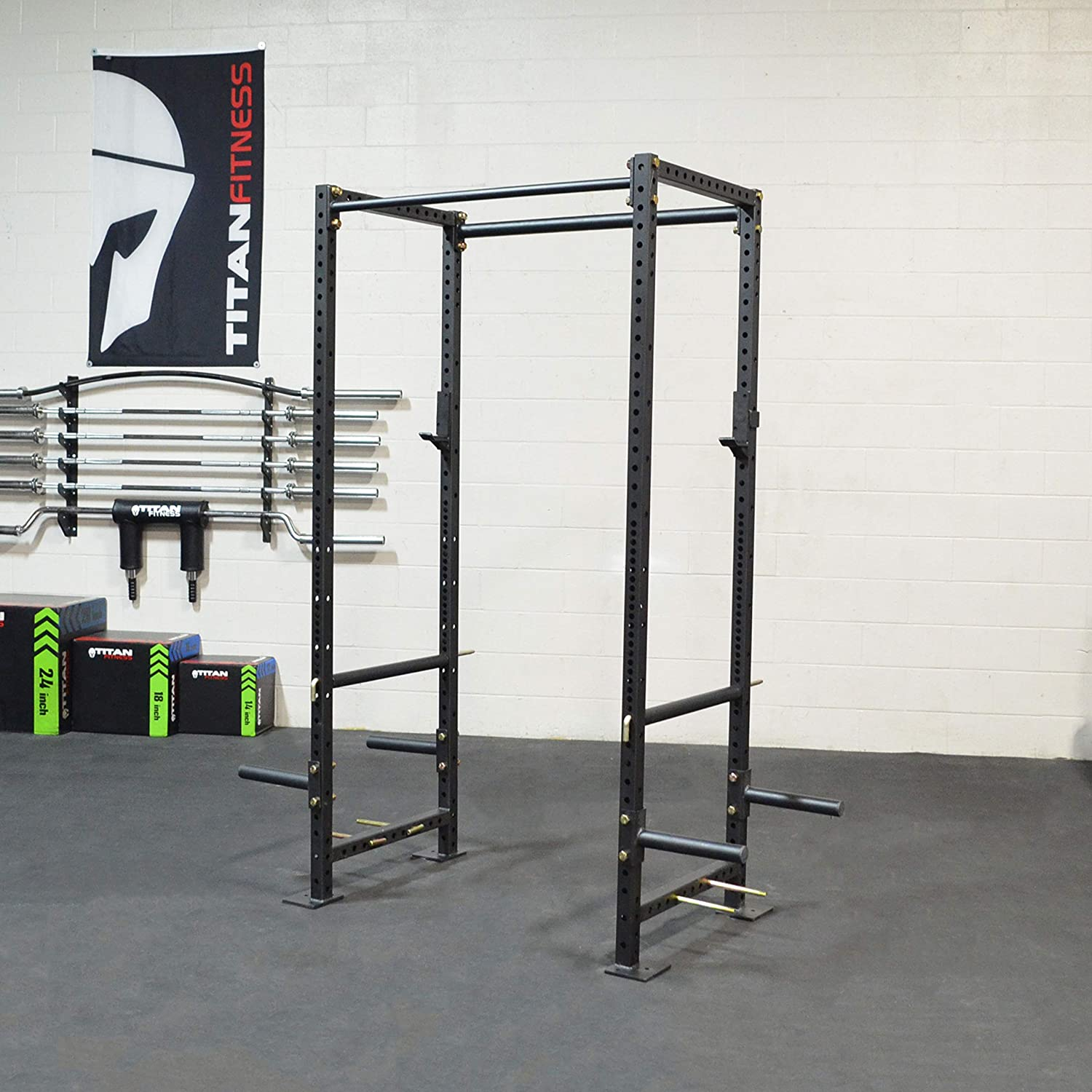 TITAN FITNESS X-2 Series Power Rack Tall Bolt Down