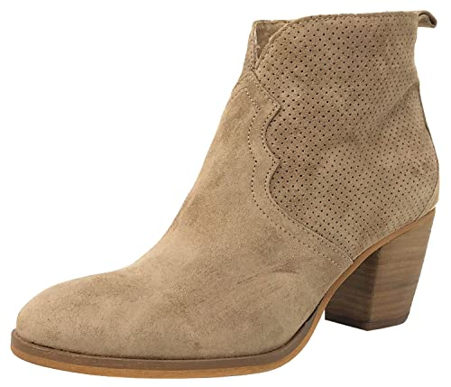ALPE Team 3493 Botines Camel, Botines Estilo Campero, 38: Amazon.es: Zapatos y complementos