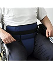 ORTONES   Cinturón de sujeción pélvico para silla de ruedas talla única.
