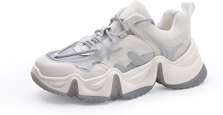 Casual Clunky Sneaker Fashion Lace-up