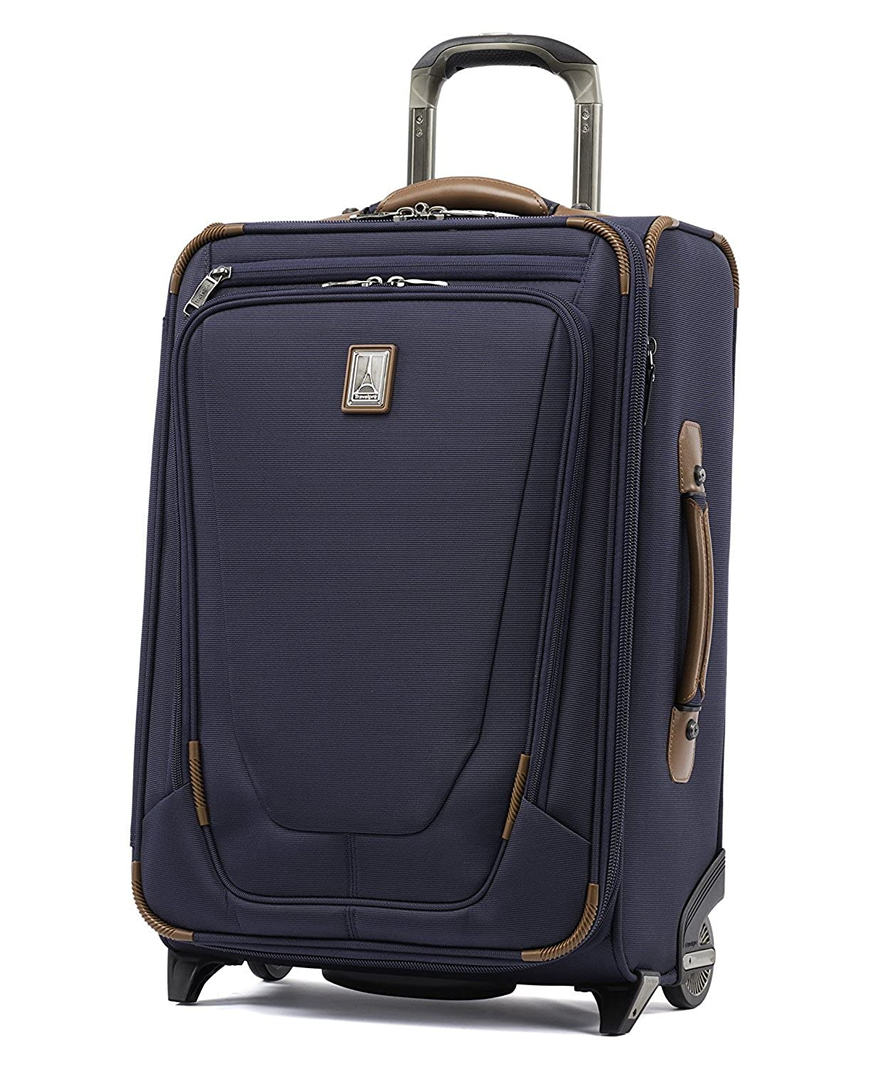 (トラベルプロ) Travelpro Crew 11 22` Expandable Rollaboard Wheeled Suiter Suitcase バッグ、旅行バッグ[並行輸入品] B07D4CDHV5 Patriot Blue One Size