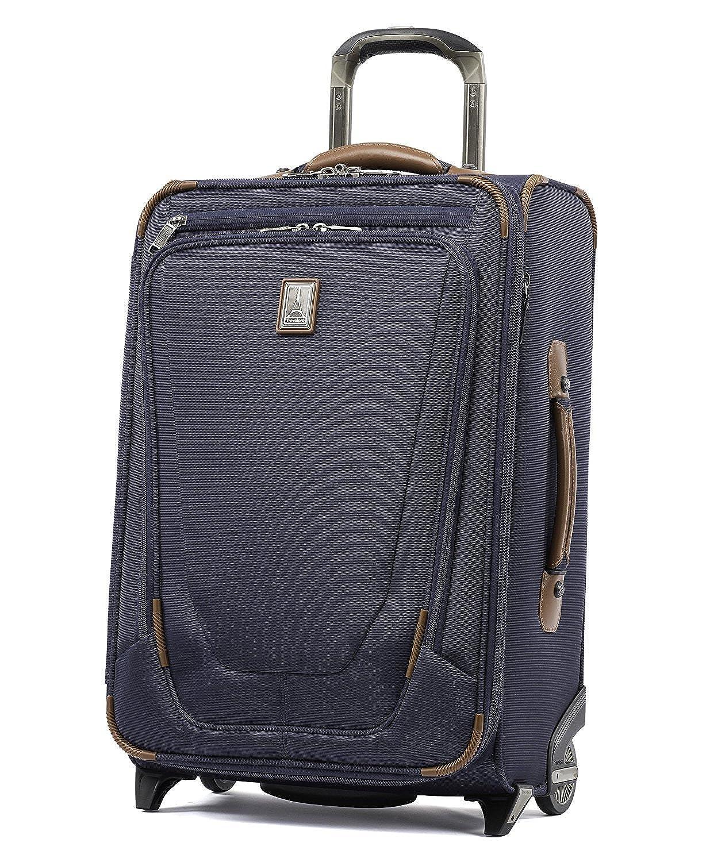 (トラベルプロ) Travelpro Crew 11 22` Expandable Rollaboard Wheeled Suiter Suitcase バッグ、旅行バッグ[並行輸入品] One Size Patriot Blue B07D4CDHV5
